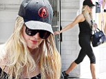 Ashlee Simpson is rumored to be planning a Labor Day wedding with fiance Evan Ross. And with less than four weeks until the first Monday in September, she's determined to get in some hours at the gym to look and feel her very best for the big day.