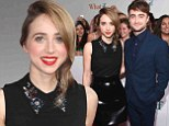 Stealing the show! Zoe Kazan outshines her leading man Daniel Radcliffe after donning leather skirt to What If premiere in New York