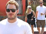 Chris Pratt and Anna Faris happily grab brunch following Guardians of the Galaxy's record-breaking opening weekend