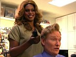 'People are afraid of clowns': Laverne Cox slams Conan O'Brien while doing his hair in character as Sophia for hilarious skit