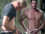 He's still McSteamy! Eric Dane, 41, proves age has not spoiled his famous abs... eight years after he was handed that sexy nickname on Grey's Anatomy