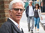 Picture Shows: Ted Danson, Mary Steenburg  August 04, 2014    Happy couple Ted Danson & Mary Steenburgen are spotted out for a stroll in New York City, New York. Ted and Mary have been happily married since 1995!    Non-Exclusive  UK RIGHTS ONLY    Pictures by : FameFlynet UK    2014  Tel : +44 (0)20 3551 5049  Email : info@fameflynet.uk.com