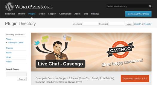 Live Chat Casengo