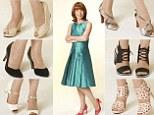 Kay Burley tries comfy heels