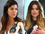 'You must be out of your mind!' Khlo� Kardashian gives Kourtney a reality check after she demands $25,000 for helping design her new home in KUWTK teaser