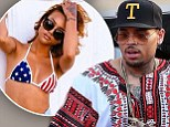Chris Brown shares a sexy 'woman crush Wednesday' snap of Karrueche Tran... after recent reports he dumped her