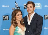 All over: It was revealed on Wednesday that Sophia Bush split with her boyfriend Dan Fredinburg, pictured at the 2013 Do Something Awards, six months ago