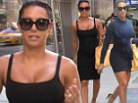 She's certainly got talent! AGT judge Mel B steps out in not just one, but TWO very tight LBDs while in New York