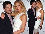 'I like to smell her': Erin Heatherton's boyfriend Felix Bloxsom reveals he can't get enough of sniffing the scent of the Victoria's Secret model