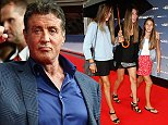COLOGNE, GERMANY - AUGUST 06:  The  daughters of Sylvester Stallone attend the German premiere of the film 'The Expendables 3' at Residenz Kino on August 6, 2014 in Cologne, Germany.  (Photo by Andreas Rentz/Getty Images)