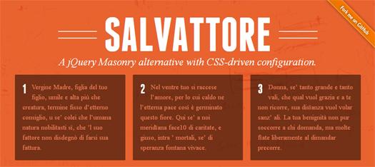 Create Pinterest-Like Layouts With CSS – Salvattore (jQuery Masonry Alternative)