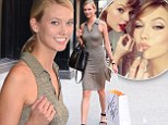 Karlie Kloss wears sheer polo dress to visit her lookalike BFF Taylor Swift's Manhattan apartment