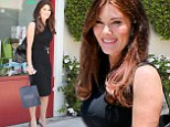 Storm in a teacup: More drama brewing for Real Housewives star Lisa Vanderpump... as she shops at tea shop in Beverly Hills