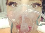 Health scare: Lady Gaga was hospitalised while suffering from altitude sickness in Denver