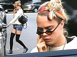 Cara Delevigne heads out in London Featuring: Cara Delevingne Where: London, United Kingdom When: 07 Aug 2014 Credit: Derek Jarvis/WENN.com