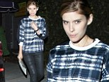 Kate Mara looks flawless and makeup free as she leave a vegan hotspot in Los Angeles