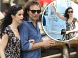 Gift of the gab! Krysten Ritter uses her powers of persuasion to hitch a ride in a VitaCig promotional van during romantic New York stroll with her new beau