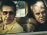 Philip Seymour Hoffman (right) plays Mickey, a meat wholesaler and petty criminal desperately trying to raise the money for a decent funeral after the 'accidental' death of his delinquent stepson alongside John Turturro