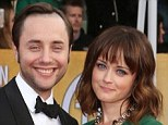 Happy couple: Vincent Kartheiser and Alexis Bledel, at the SAG awards in 2013, have wed