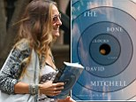 Spotted: Sarah Jessica Parker leaving her home carrying a novel that has not been released yet