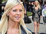 Club or checkout? Tara Reid dons a tight mini dress and sky high platforms for a spot of shopping