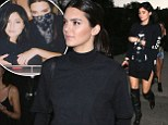 Kylie and Kendall Jenner rock edgy looks at Rihanna and Eminem concert