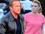 Still going strong! Arnold Schwarzenegger takes his girlfriend Heather Milligan on romantic dinner date in Brentwood