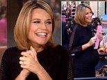 Savannah Guthrie announces she will finally go on maternity leave, just a week before her due date