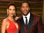 Happier times: Nicole Murphy and Michael Strahan, shown in March in West Hollywood, California, recently split after a five-year engagement