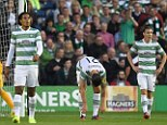 Reprieve: Celtic could return to the Champions League as UEFA launch investigation into the eligibility of one of the Legia Warsaw players following the Poles victory over Ronny Delia's side