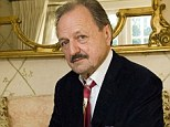 Peter Bowles at his home in Barnes, London