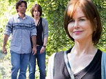 On the set: Nicole Kidman shot scenes on Thursday for The Family Fang in Upstate New York