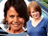 She's definitely a Kidman! Nicole looks strikingly similar to younger sister Antonia wearing brunette wig on set of The Family Fang with Jason Bateman