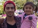Zayn Malik shared a warm moment with his three-year-old cousin Arshiya Malik as he threw a 21st birthday party for his fiancé Perrie Edwards in July