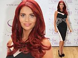 Mandatory Credit: Photo by Matthew Taylor/REX (4072612c)  Amy Childs wears Eve pencil dress.  Amy Childs pop-up boutique, Derby, Britain - 08 Aug 2014