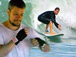 Work it: Matt Damon showed he's quite the action junkie in real life, as he got in some surfing and boxing while on vacation in Costa Rica on Friday
