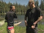 'You're good at stripping!' Bear Grylls persuades Channing Tatum to take his pants off after chopper ride on latest episode of Running Wild