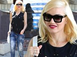 It's doing wonders for her! Gwen Stefani looks glowingly radiant in jeans and black top after acupuncture visit