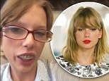 Who's that girl? Taylor Swift is barely recognisable as she is transformed into dorky alter ego Natalie