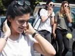 Sweet 16 Kylie Jenner and BFF Sofia Richie are two of a kind in matching outfits as they hit the shops