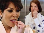 'Never in a million years!' Kris Jenner stuns herself and gets high with her mom Mary Jo eating medicinal marijuana gummy bears