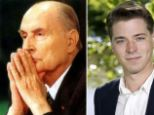 Swedish politician Hravn Forsne, right, yesterday emerged as yet another secret love child of France's former Socialist President Francois Mitterand