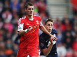 SOUTHAMPTON, ENGLAND - MAY 11:  (L-R) Morgan Schneiderlin of Southampton holds off Adnan Januzaj of Manchester United during the Barclays Premier League match between Southampton and Manchester United at St Mary's Stadium on May 11, 2014 in Southampton, England.  (Photo by Ian Walton/Getty Images)