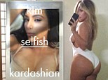 It was only a matter of time! Undisputed Queen of the Selfie Kim Kardashian to release 352-page hardcover photo book aptly titled Selfish