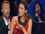 Let the battles begin! Dannii Minogue slams Ronan Keating on the first X Factor live show for choosing a Celine Dion song saying it was 'too old' for Marlisa Punzalanq