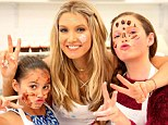 Competition? What competition? Delta Goodrem takes her Voice Kids Australia contestants to cupcake cooking class ahead of show's Grand Finale