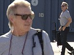 Harrison Ford looked to be in tip-top shape as he boarded his private jet in Santa Monica, California on Tuesday. The 72-year-old, who plays Han Solo in the Star Wars films, is expected to return to the set of the seventh installment of the iconic franchise any day now following an injury in June