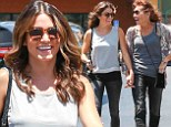 Best day ever! Nikki Reed and her mother Cheryl Houston bonded as they stopped by a nail salon in Studio City on Saturday