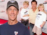 Moved away: James Denton, shown last month in Minnesota, moved out of Los Angeles as soon as Desperate Housewives ended in 2012
