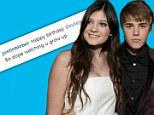 Happy seventeenth birthday Kylie Jenner from Justin Bieber